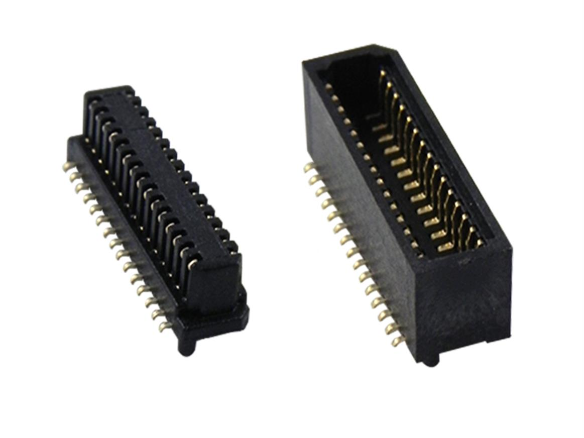 0.8 mm Microstak connectors