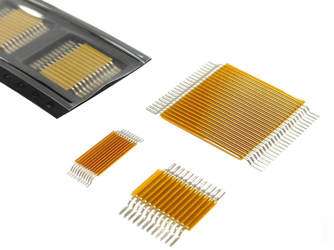 Surface mount flexible jumper strips