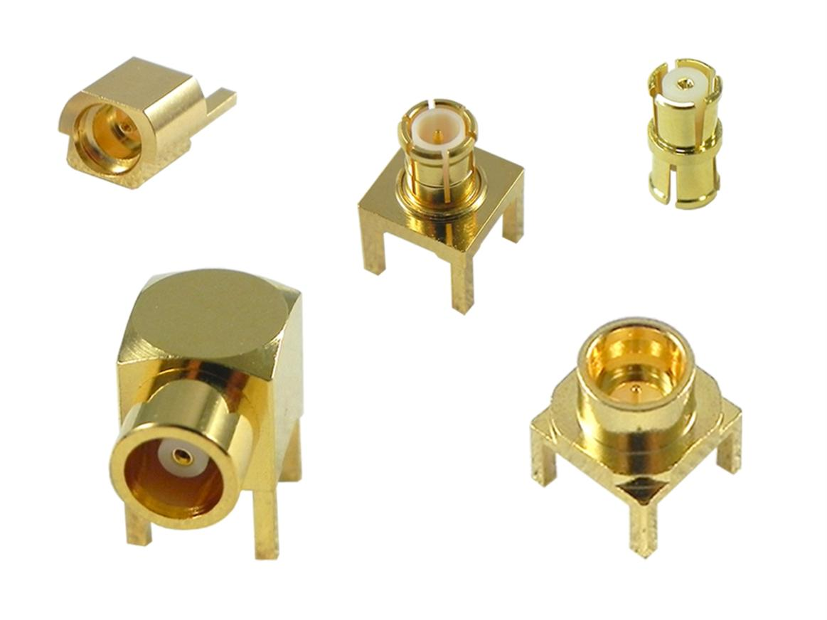 Microminiature RF connectors