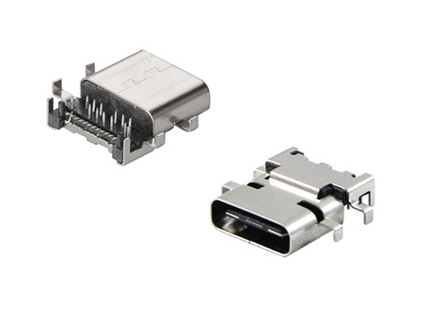 USB Type C side entry connectors