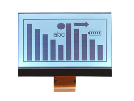 Graphic chip-on-board display
