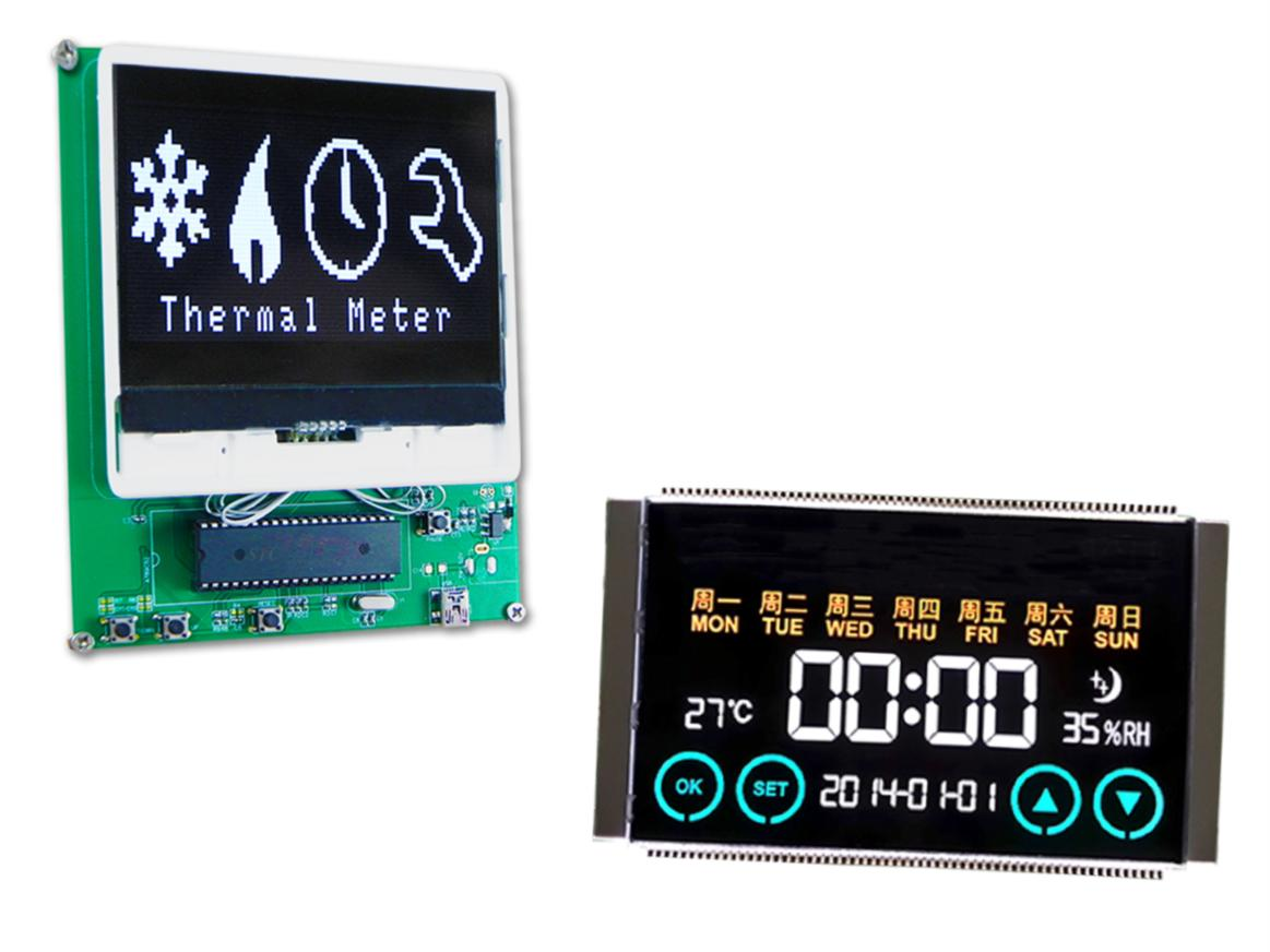 Passivmatrix LCD displays